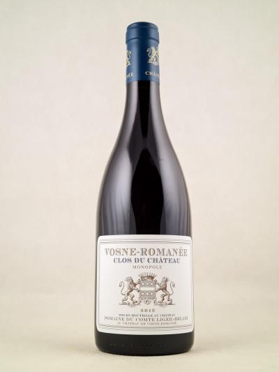 """Comte Liger-Belair - Vosne Romanée """"Clos du Château"""" 2015"""