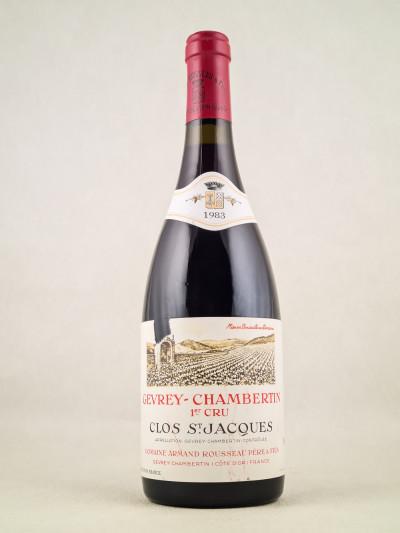"Armand Rousseau - Gevrey Chambertin 1er cru ""Clos Saint Jacques"" 1983"