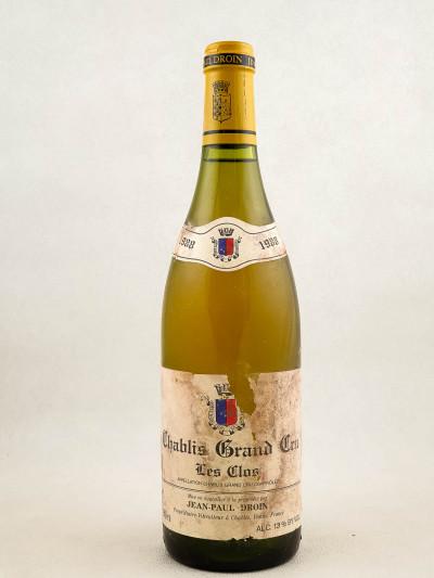 "Droin - Chablis grand cru ""Les Clos"" 1988"