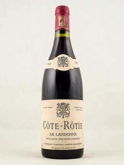 """Rostaing - Côte Rôtie """"La Landonne"""" 1990"""