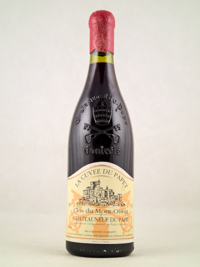 """Clos du Mont-Olivet - Châteauneuf du Pape """"Cuvée du Papet"""" 1990"""