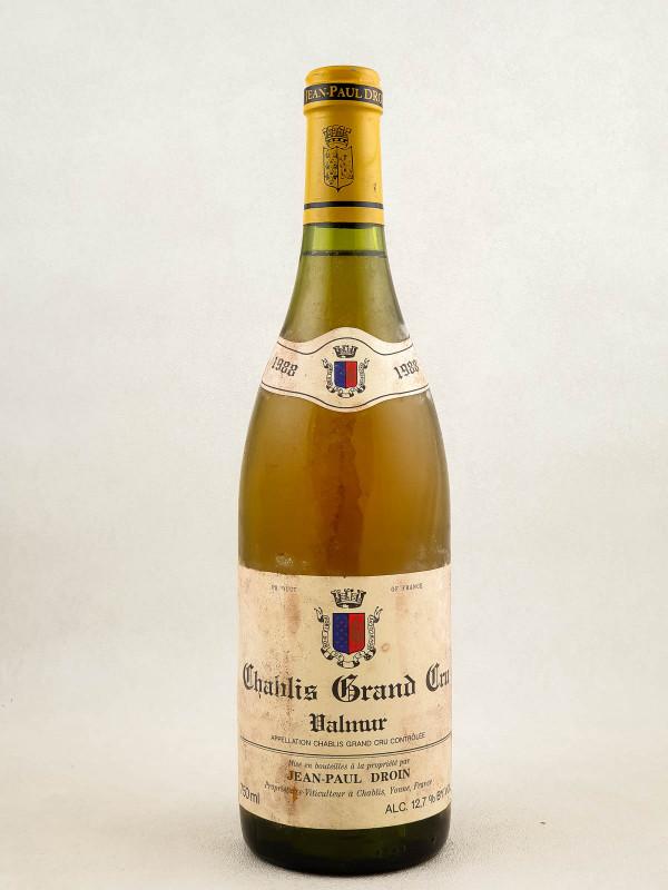 """Droin - Chablis grand cru """"Valmur"""" 1988"""