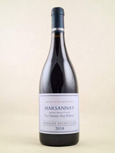 "Bruno Clair - Marsannay ""La Charme Aux Prêtres"" 2018"