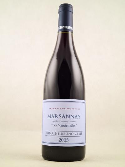 "Bruno Clair - Marsannay ""Vaudenelles"" 2005"