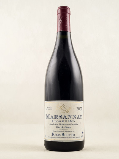"Régis Bouvier - Marsannay ""Clos du Roy"" 2000"