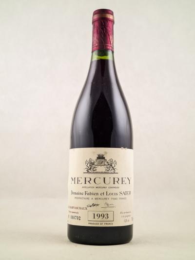 Domaine F & L Saier - Mercurey 1993