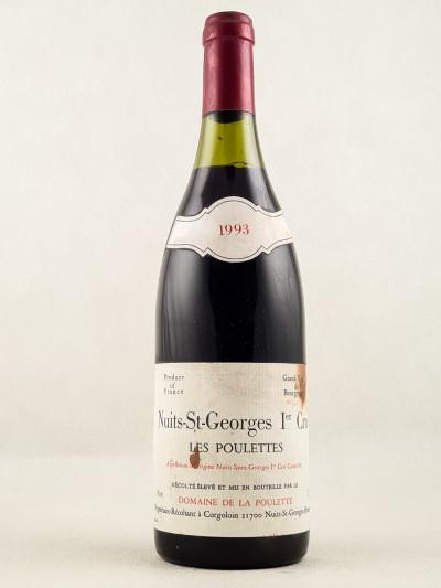 """Domaine de la Poulette - Nuits St Georges 1er cru """"Les Poulettes"""" 1993"""