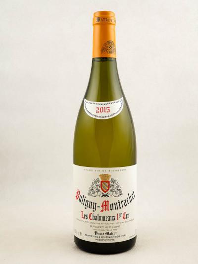 "Matrot - Puligny Montrachet 1er cru ""Chalumeaux"" 2015"