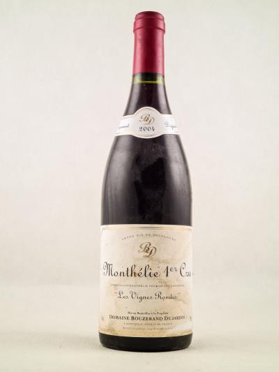 """Bouzerand Dujardin - Monthélie 1er Cru """"Les Vignes Rondes"""" 2004"""