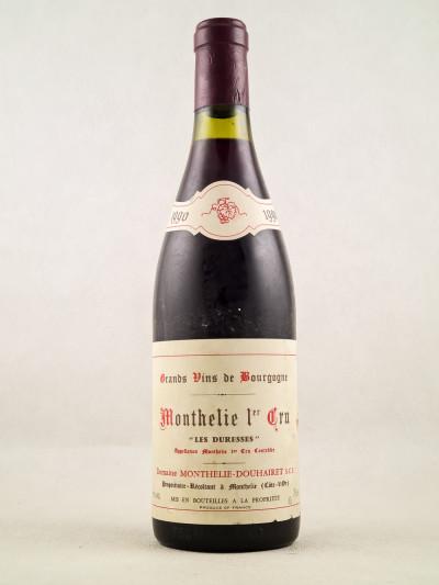 """Monthelie Douhairet - Monthélie 1er Cru """"Les Duresses"""" 1990"""