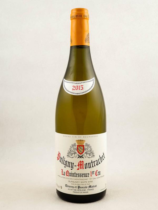 "Matrot - Puligny Montrachet 1er cru ""Quintessence"" 2015"