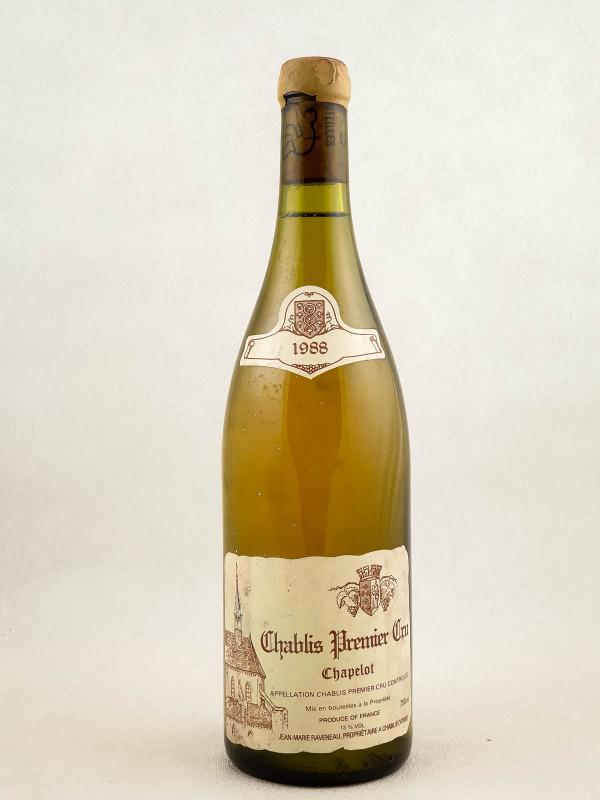 "Raveneau - Chablis 1er cru ""Chapelot"" 1988"