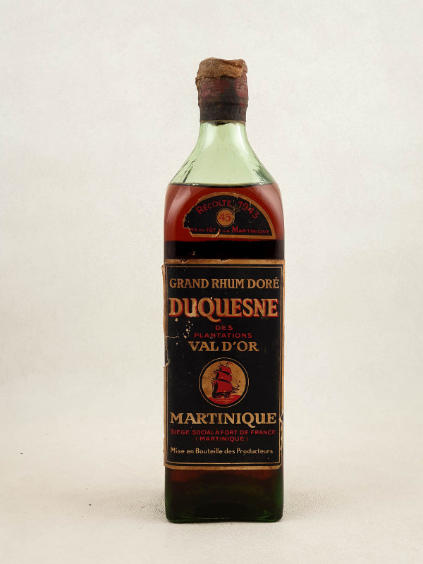Duquesne - Rhum Plantations Val d'Or 1943