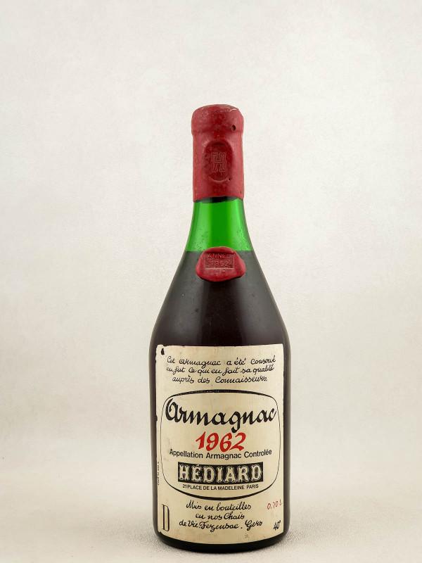 Hédiard - Armagnac 1962