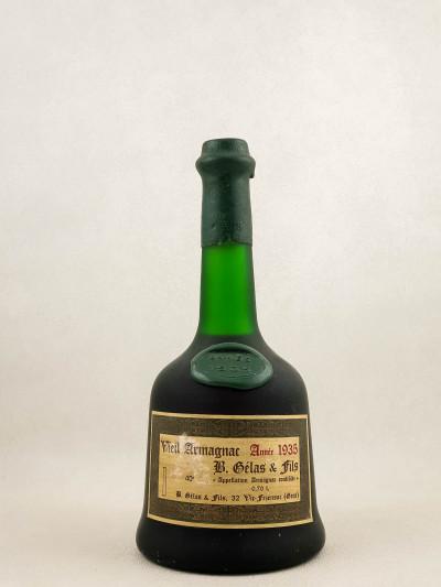Gélas - Vieil Armagnac 1935