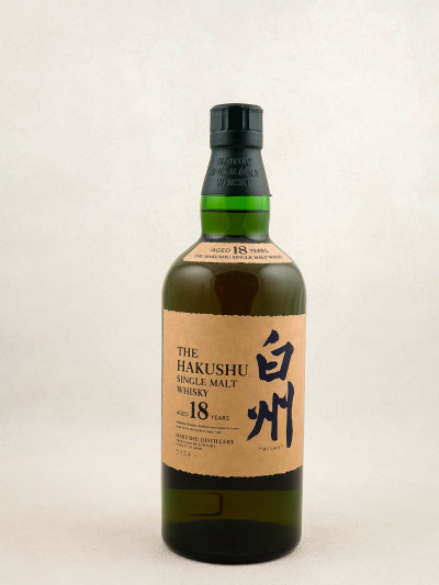 The Hakushu - Whisky Single Malt 18 Years