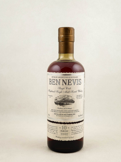 Ben Nevis - Whisky Single Cask Highland 2002