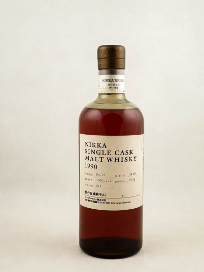 Nikka - Whisky Single Malt Cask 1990