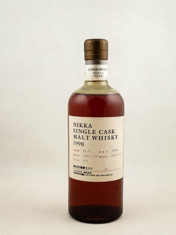 Nikka - Whisky Single Malt Cask 1990