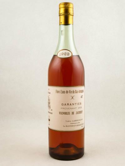 Jaurrey Laberdolive - Fines Eaux de Vie Bas Armagnac 1923