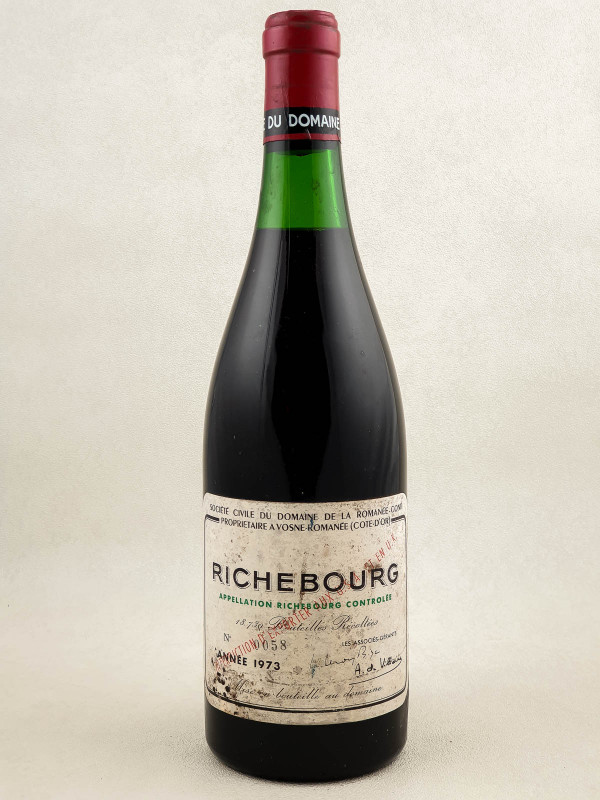 Romanée Conti - Richebourg 1973