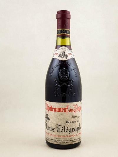 Vieux Télégraphe - Châteauneuf du Pape 1981