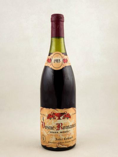 """Cathiard - Vosne Romanée 1er cru """"Beaux Monts"""" 1985"""