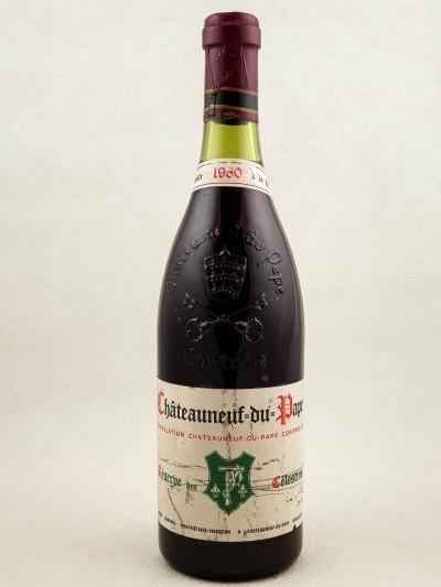 """Henri Bonneau - Châteauneuf du Pape """"Réserve des Célestins"""" 1980"""
