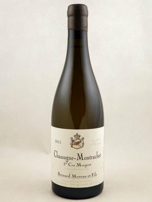 "Bernard Moreau - Chassagne Montrachet 1er cru ""Morgeot"" 2011"