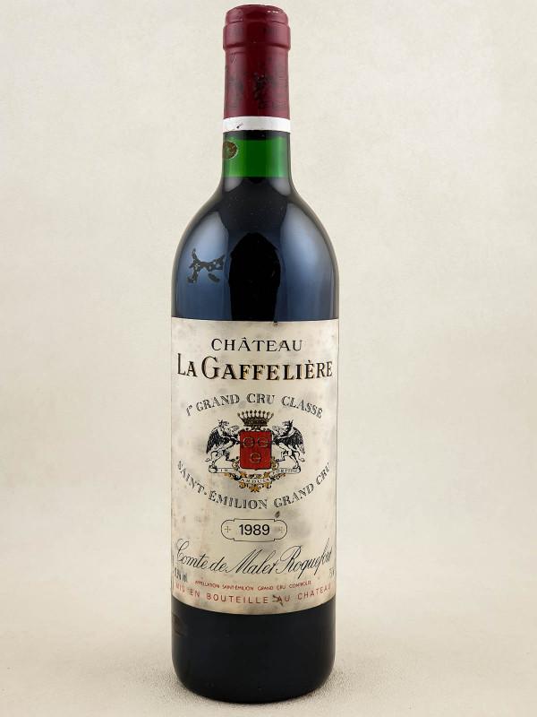 La Gaffelière - Saint Emilion 1989
