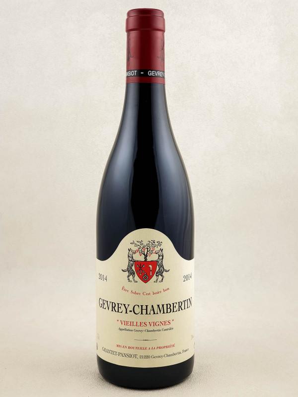 "Geantet Pansiot - Gevrey Chambertin ""Vieilles Vignes"" 2014"