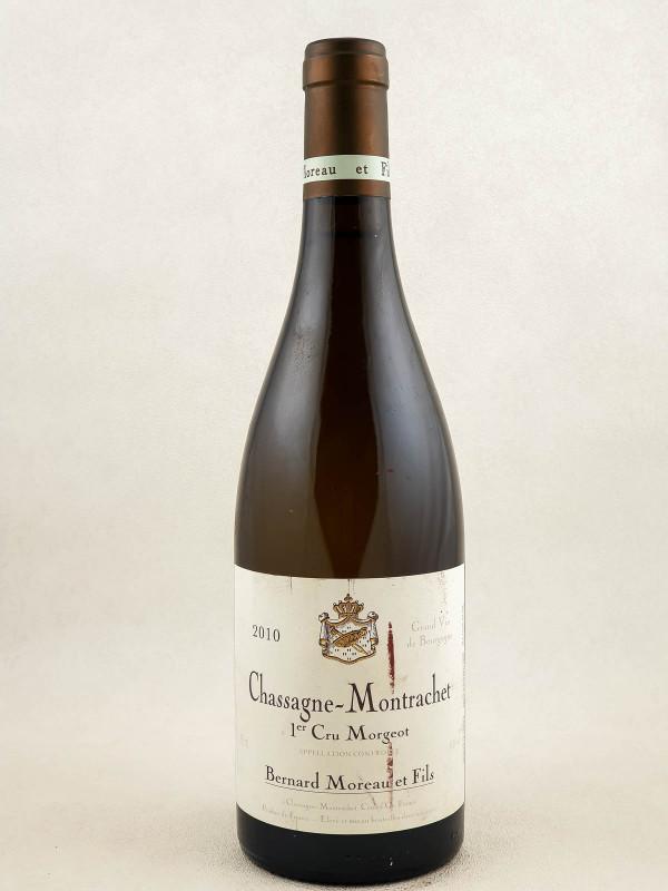 "Bernard Moreau - Chassagne Montrachet 1er cru ""Morgeot"" 2010"