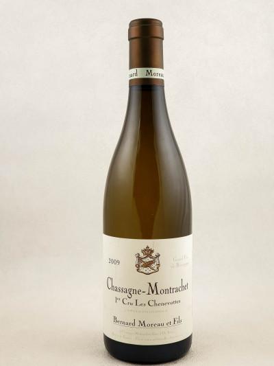 "Bernard Moreau - Chassagne Montrachet 1er cru ""Chenevottes"" 2009"